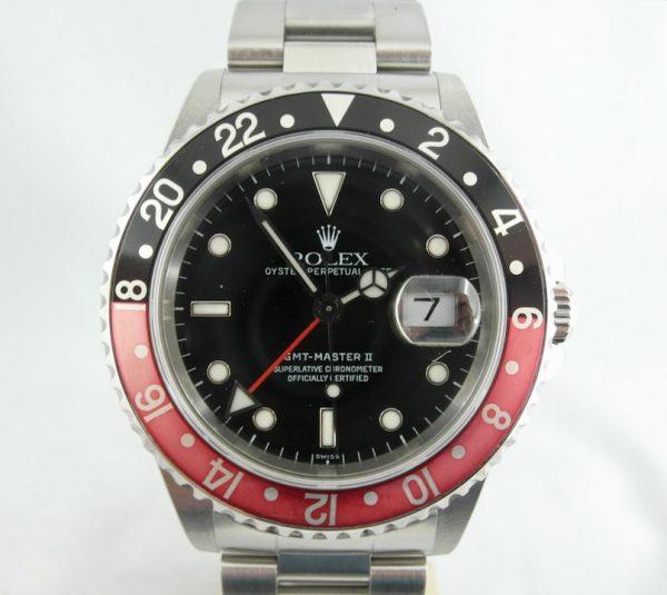 Rolex GMT-Master II rosso nero