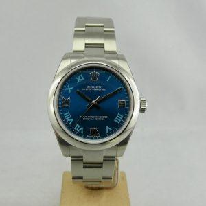 Rolex Oyster Perpetual 31mm Blu