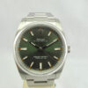 Rolex Oyster Perpetual verde oliva 34mm