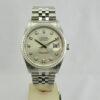 Rolex Datejust 36mm Argentato brillanti